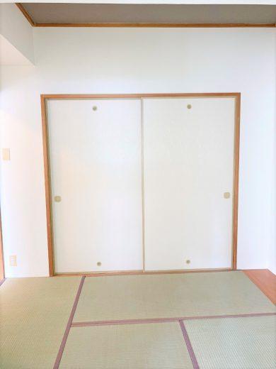 和室(4.5帖:襖奥押入)