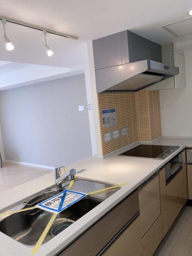 ディスポーザー付システムキッチン(IHヒーター・食洗機交換)(キッチン)