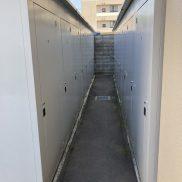 屋外型トランクボックス全戸分設置(内装)