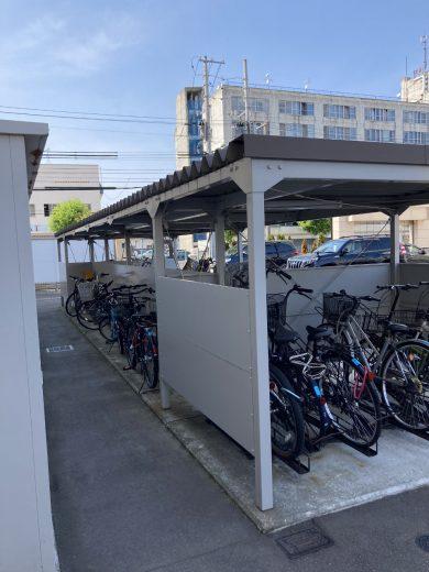 駐輪場(屋外屋根付き)