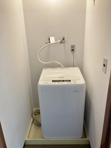洗濯機(室内洗濯機置場内)