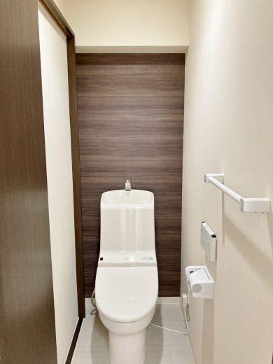 トイレ:ウォシュレット一体型