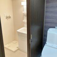 トイレ+洗面脱衣室